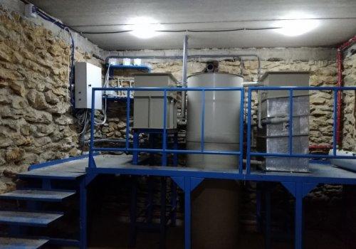 Монтаж оборудования для замкнутого водоснабжения (УЗВ)