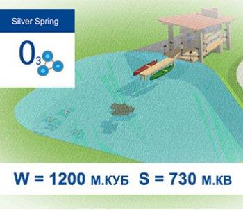 Типовой проект искусственного водоема с купальной зоной S = 730  м.кв