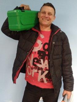 Олег Марчук, Инженер монтажник